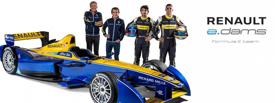 Три от три: Три титли за Renault e.dams